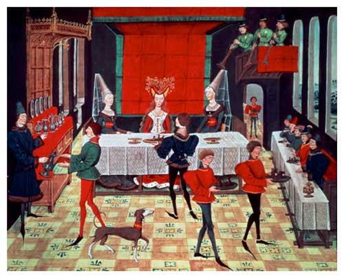 Medieval-Banquet-for-the-Queen
