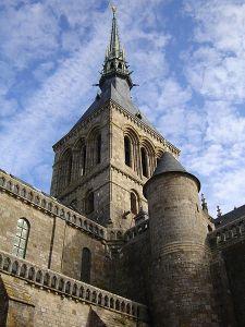Mont_St__Michel_Spire