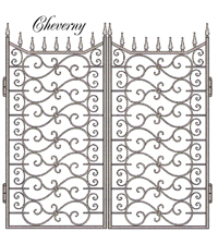 Cheverny-Garden-Gate