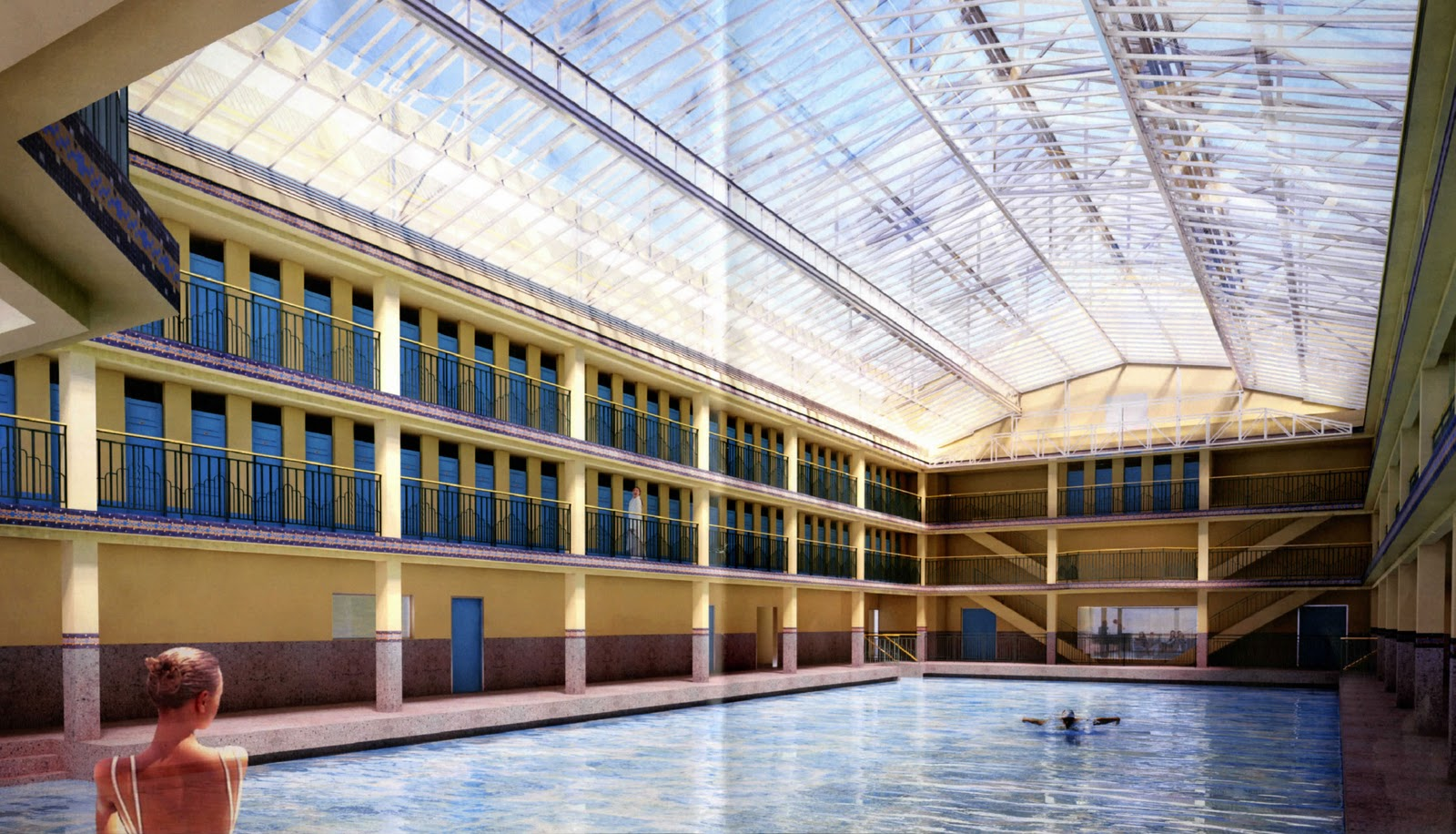 La piscine molitor one quality the finest for Piscine molitor