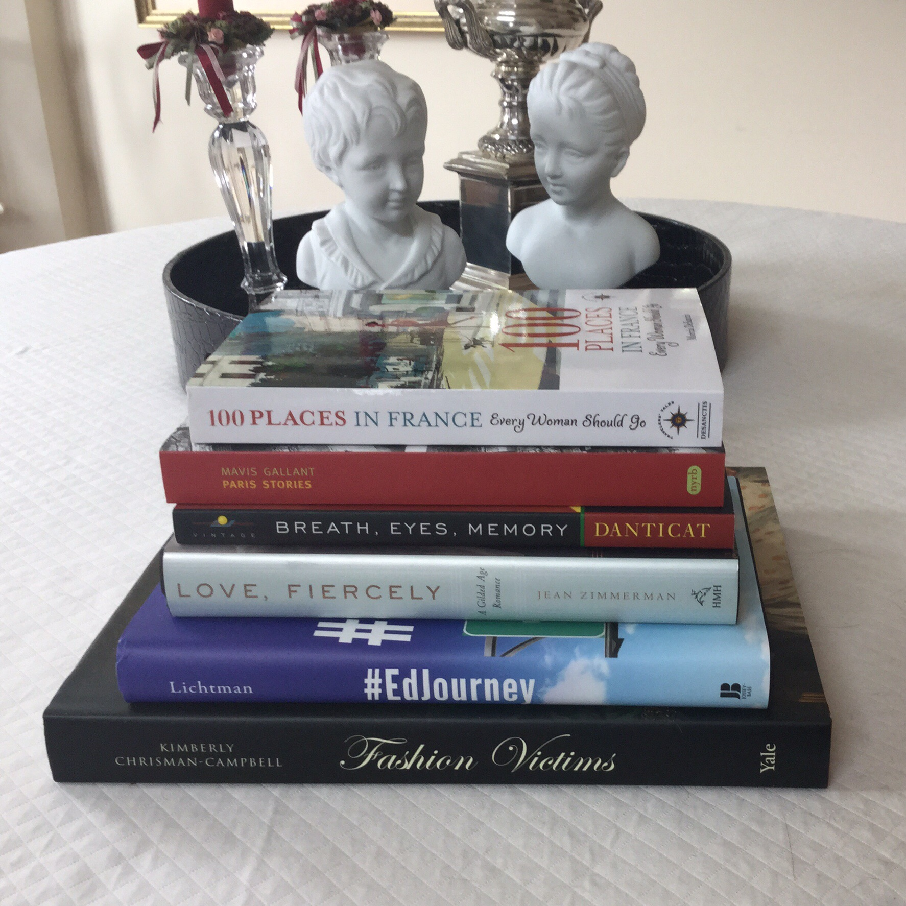 For a teacher, summer time means a chance to rest, recharge, and read. I  have a stack to attack this summer – some are books that I've chosen, ...