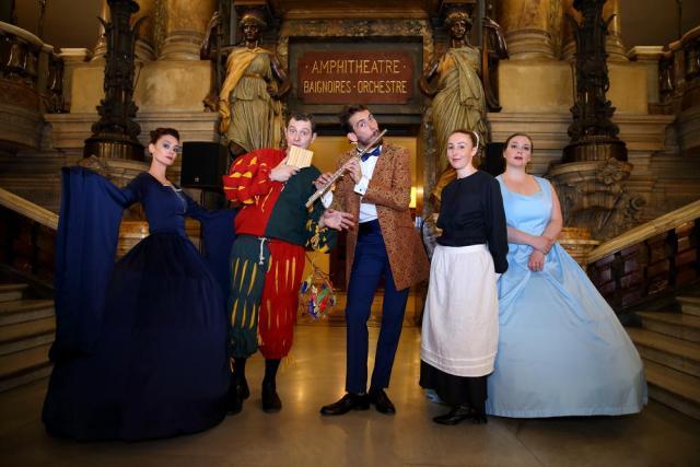 TF1, SOIREE INSIDE OPERA, 4 JUIN 2018, OPERA GARNIER, PARIS