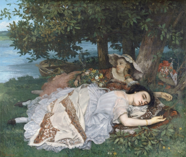 Young Ladies on the Banks of the Seine (Summer)